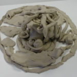 Individual session of art-therapy with clay with Florence Liard counselor and art-therapist