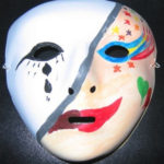 Art-therapy sessions - painting on masks